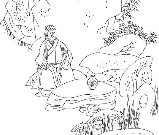 《仙吕·寄生草·饮》白朴元曲注释翻译赏析