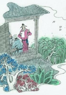 《郡斋雨中与诸文士燕集》韦应物唐诗注释翻译赏析