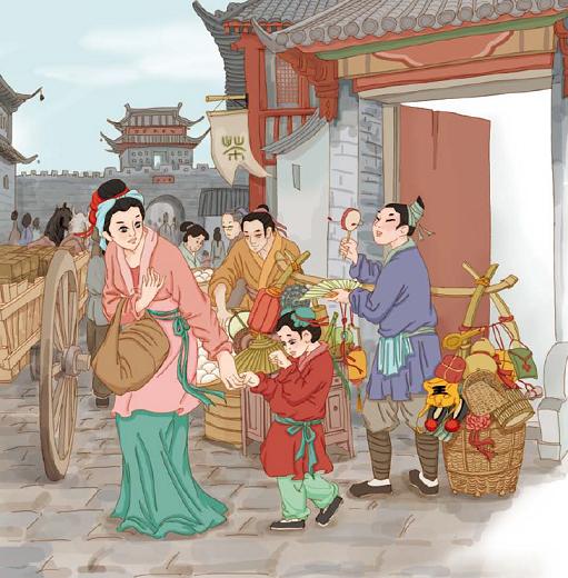 《孟母三迁》文言文原文注释翻译