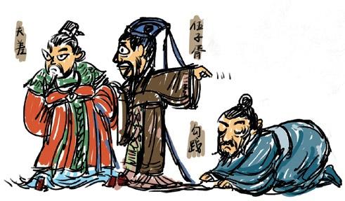 《吴许越成》左丘明文言文原文注释翻译