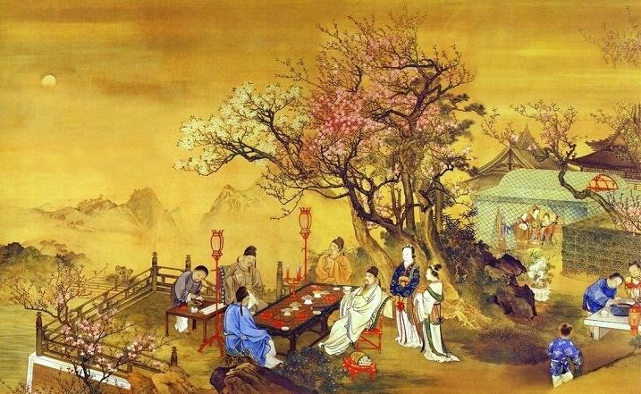《春夜宴桃李园序》李白文言文原文注释翻译