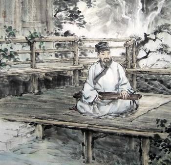 夜宿山寺的意思_松月生夜凉,风泉满清听。全诗意思及赏析 | 古文学习网
