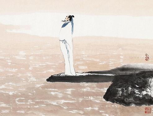 九曲黄河万里沙,浪淘风簸自天涯。全诗意思及赏析