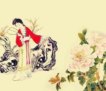 新妆宜面下朱楼,深锁春光一院愁。全诗意思及赏析