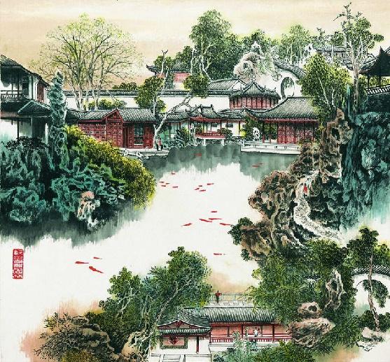 《游小盘谷记》梅曾亮文言文原文注释翻译