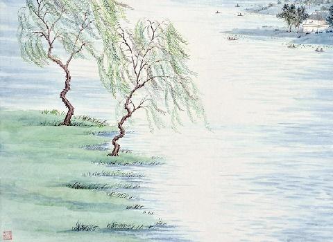 绿杨芳草几时休,泪眼愁肠先已断。全诗词意思及赏析