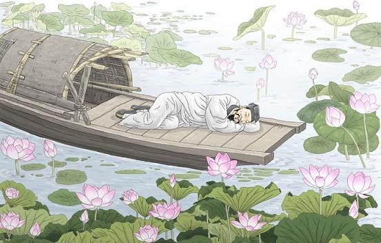 万顷波光摇月碎,一天风露藕花香。全诗意思及赏析