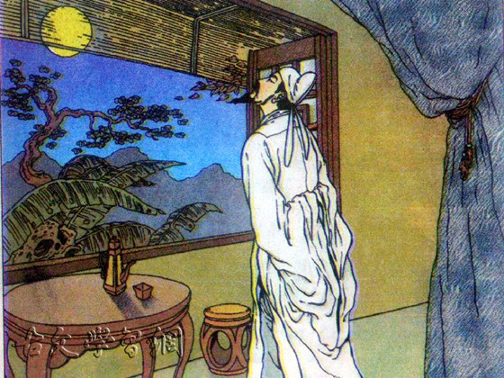 《十五夜望月寄杜郎中》王建唐诗注释翻译赏析