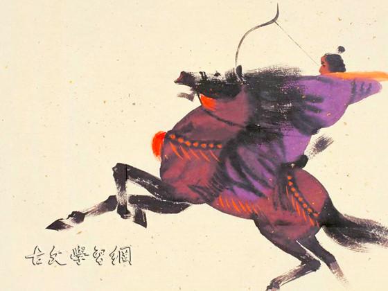 《前出塞九首·其六》杜甫唐诗注释翻译赏析