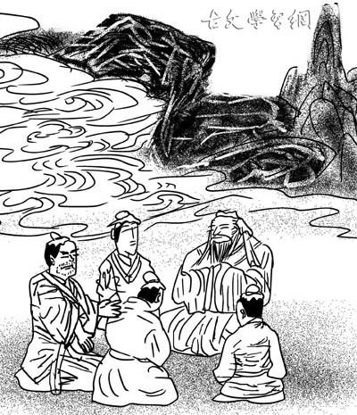 《侍坐》论语文言文原文注释翻译